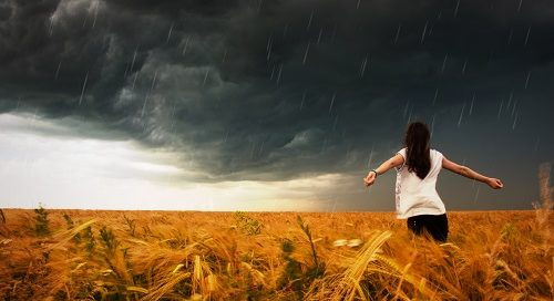 Cloudy Sky Woman - Tom Bird